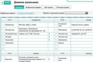Электронный дневник школьника (МРКО) – контролируем успеваемость!